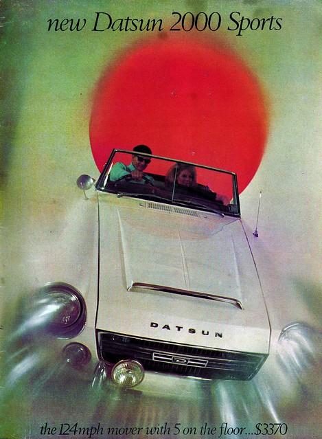 1967 Datsun 2000 Sports ad