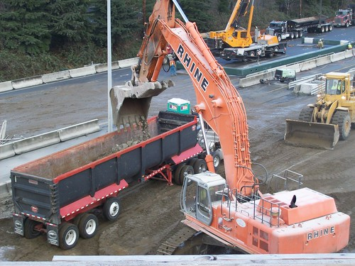 Crunching the NE 12th St. Bridge over I-405 | by WSDOT