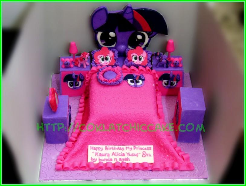 Cake My little Pony Bedroom