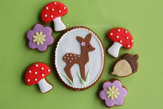 Little Fawn Cookie | by Three Honeybees