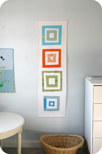 misfit wall hanging | by Cara {Me? A Mom?}