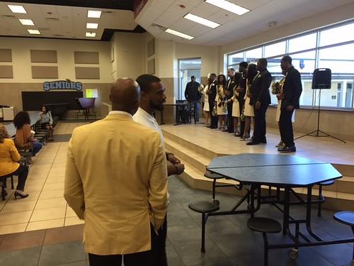 GSU President, Royal Court Visit QB's School
