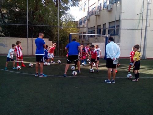 Ανοιχτή προπόνηση & Α' φάση δοκιμαστικών των τμημάτων ποδοσφαίρου της Σχολής Ποδοσφαίρου «Ολυμπιακός Περιστέρι Αυγουλέα – Λιναρδάτου».