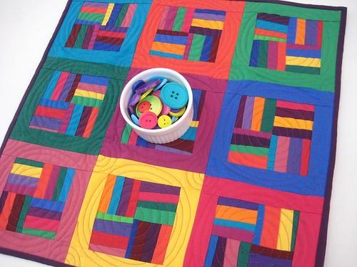 Modern Patchwork Quilt Patterns Free : Modern Patchwork Mini Quilt Pippa Eccles Flickr