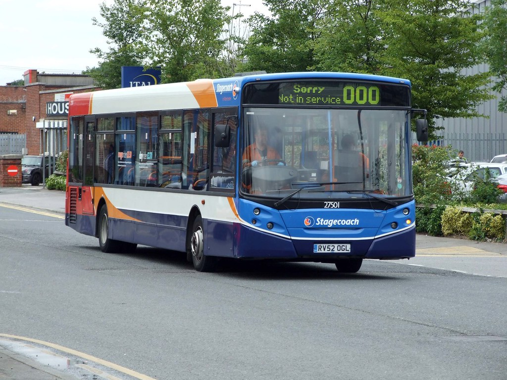 Stagecoach Manchester 27501 RV52 OGL