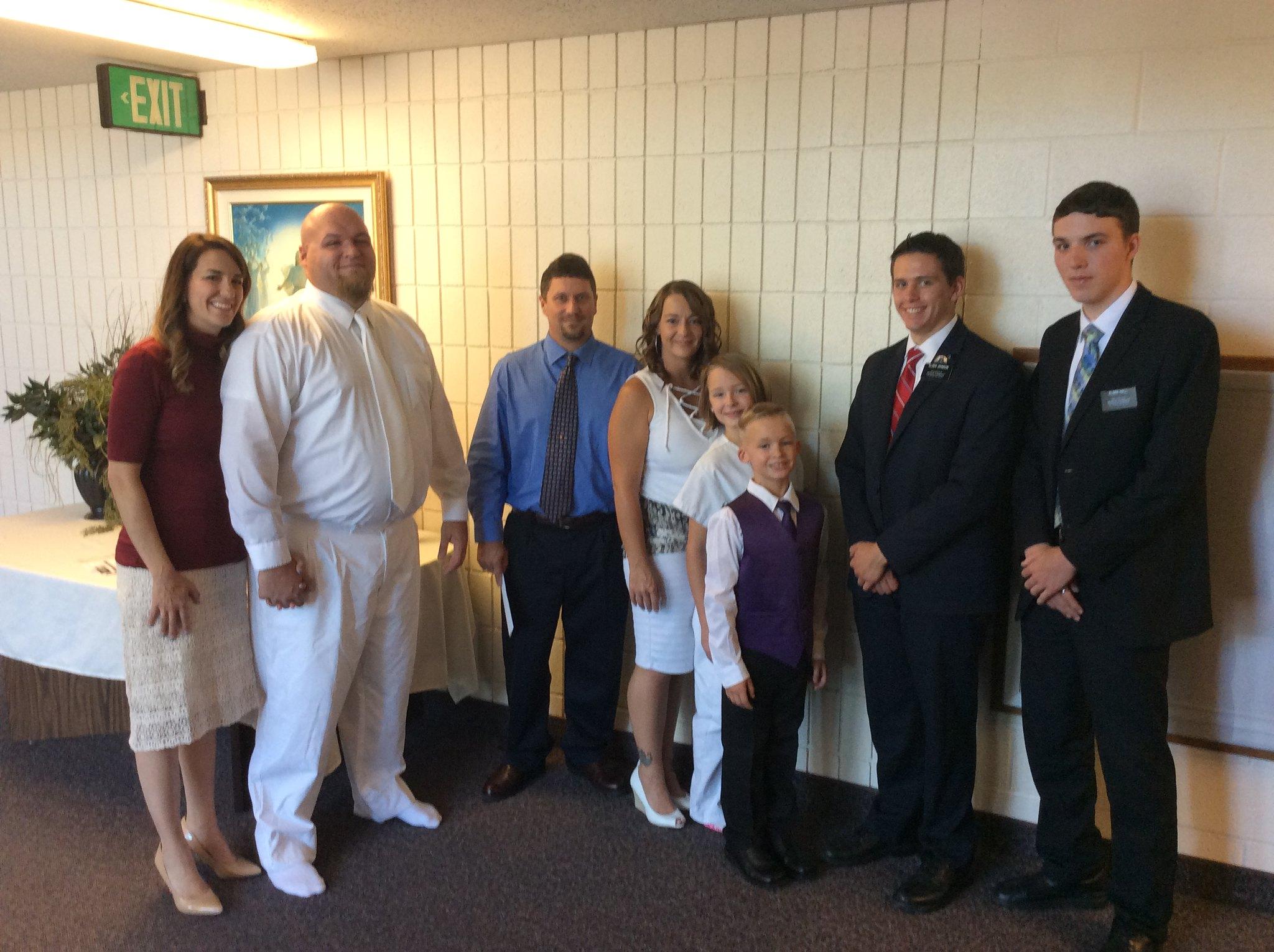 Brooklyn's baptism