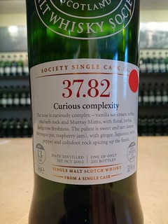 SMWS 37.82 - Curious complexity