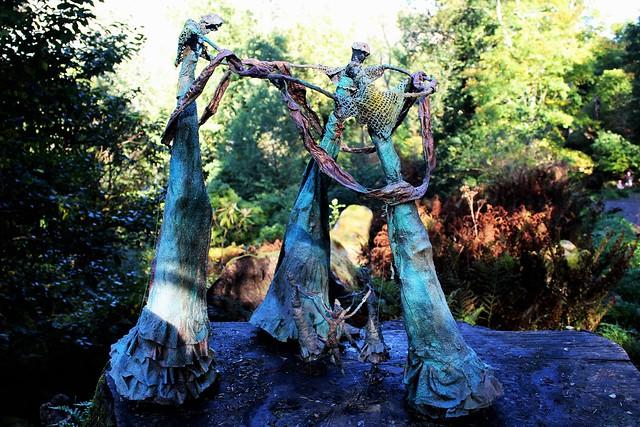 Sculpture 'Sardana' at Ardkinglas Woodland Garden