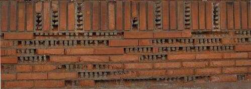 Muro de ladrillo visto 2 flickr photo sharing - Muros de ladrillo visto ...