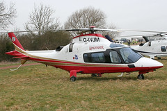 G-IVJM - 2002 build Agusta A109E Power, visiting the 2010 Cheltenham Festival