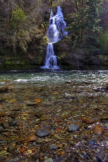 Waterfall on the Washougal River | by vincentlouis
