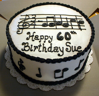 Music Cake Musical Birthday Cake The Notes Are The