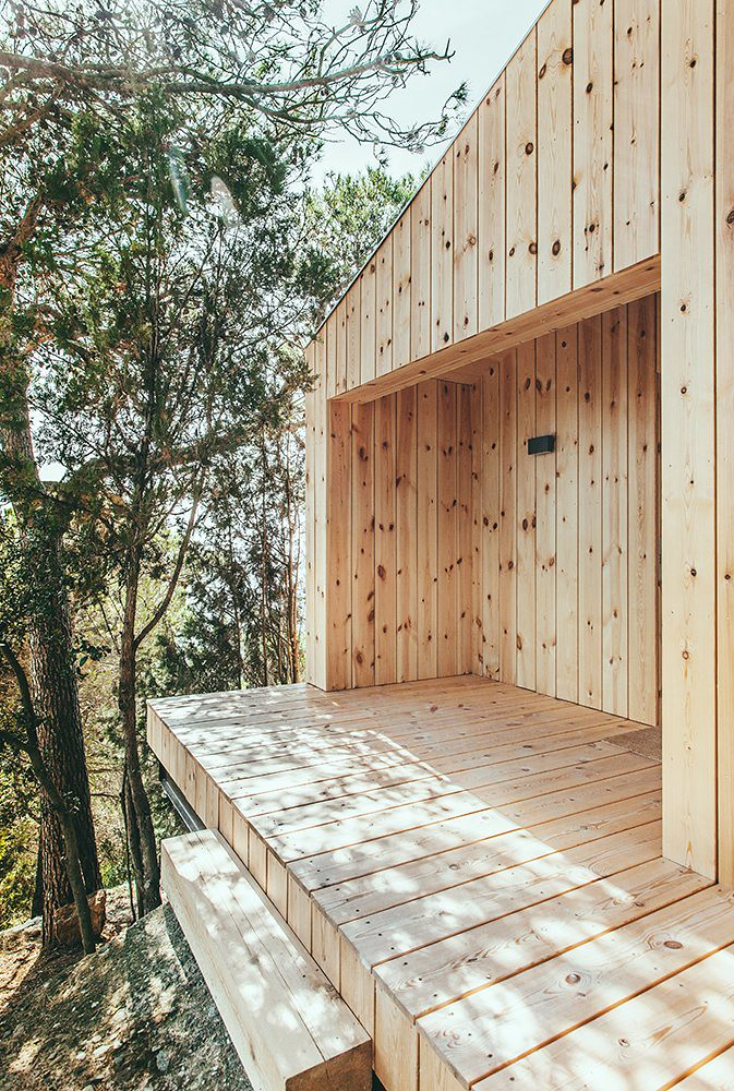 Wood studio house by Dom Arquitectura in Barcelona Sundeno_09