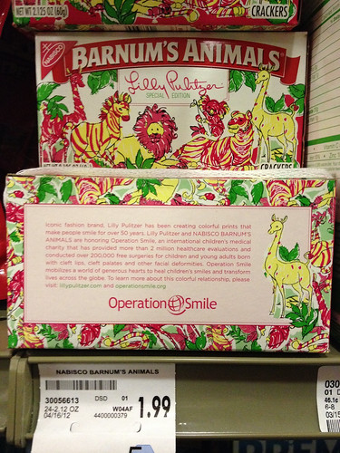 Lilly Pulitzer Barnum's Animal Crackers | by Rusty Blazenhoff
