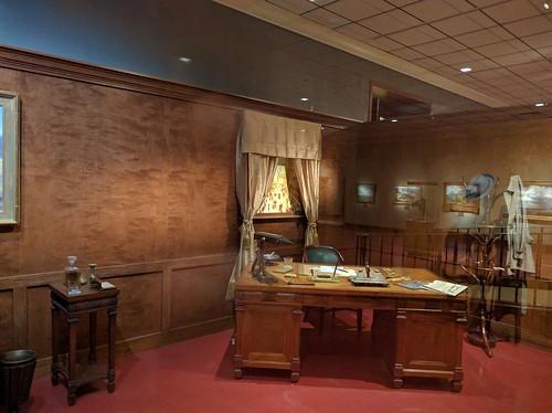 Frank Phillips' New York Office setup