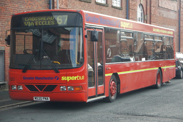 Volvo B10BLE Superbus, First Manchester