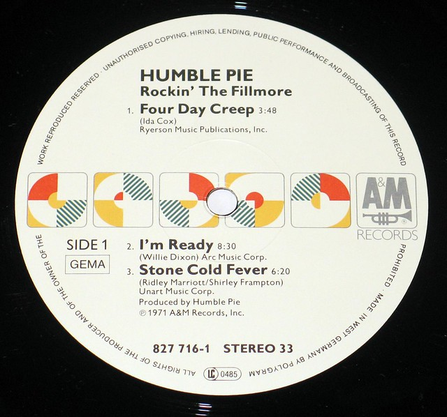 Humble Pie - Performance Rockin The Fillmore