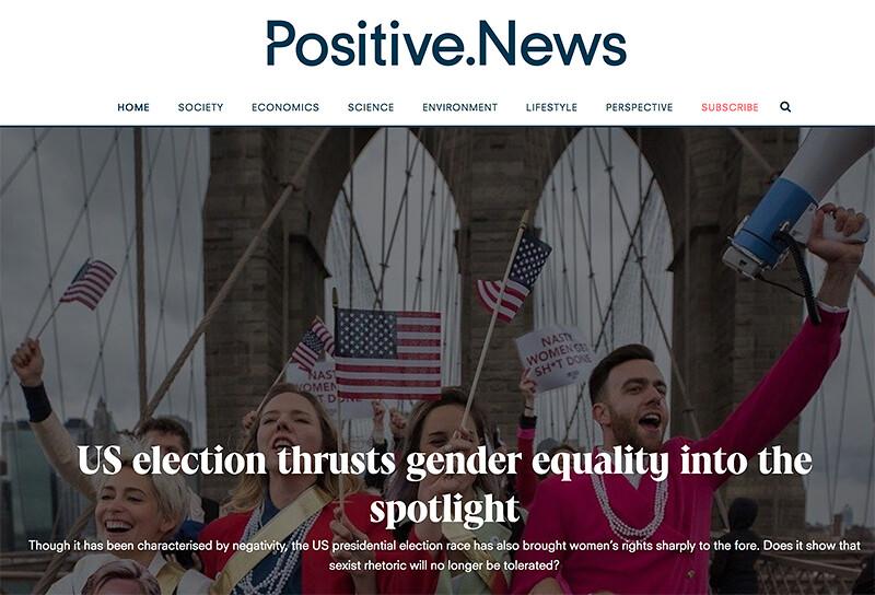 Positive News.