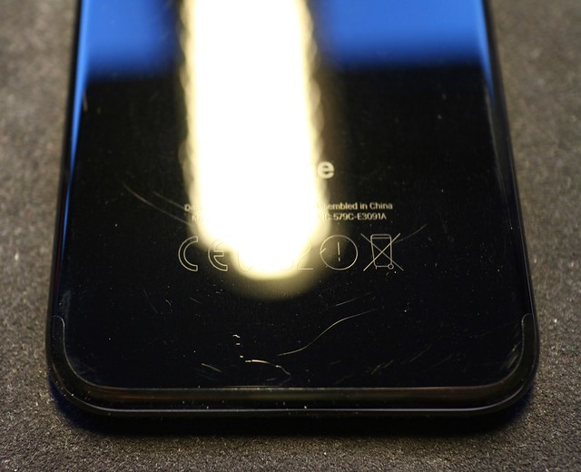 iPhone 7 Jet Black after one week