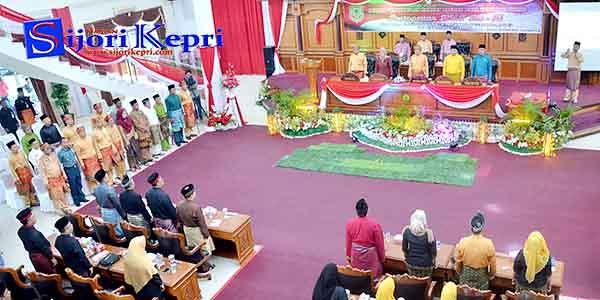 Sidang Paripurna HUT Kota Otonom Tanjungpinang Ke-15