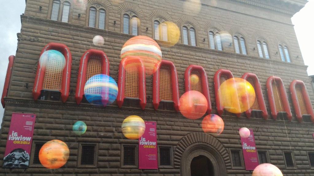 Firenze - Palazzo Strozzi ospita l'artista Ai Weiwei