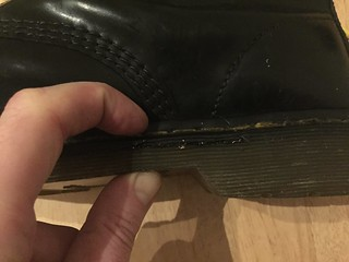 Re-Welding Docs: Press the two halves together with your thumb and forefinger