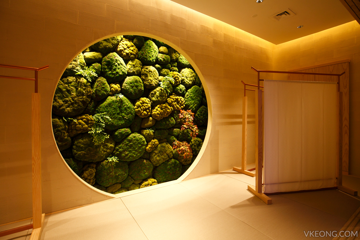 ISETAN The Japan Store - Garden on wall