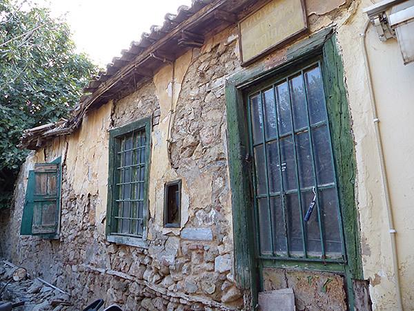 maison en ruines Plaka