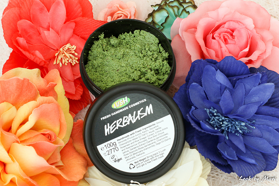 2 Lush the best face cleanser