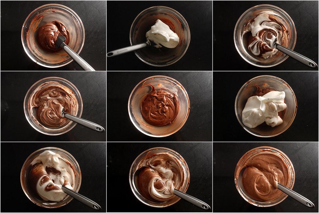 מקפלים חלבונים לתערובת השוקולד