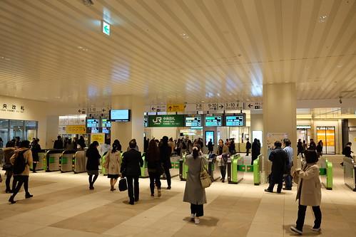 JR Chiba Station refurbishment 2016-13