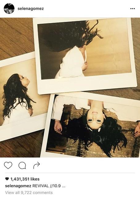 Selena Gomez Instagram