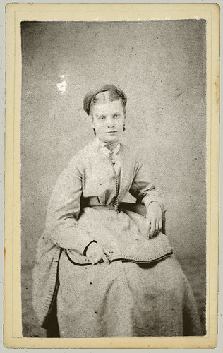 CDV Woman Sitting