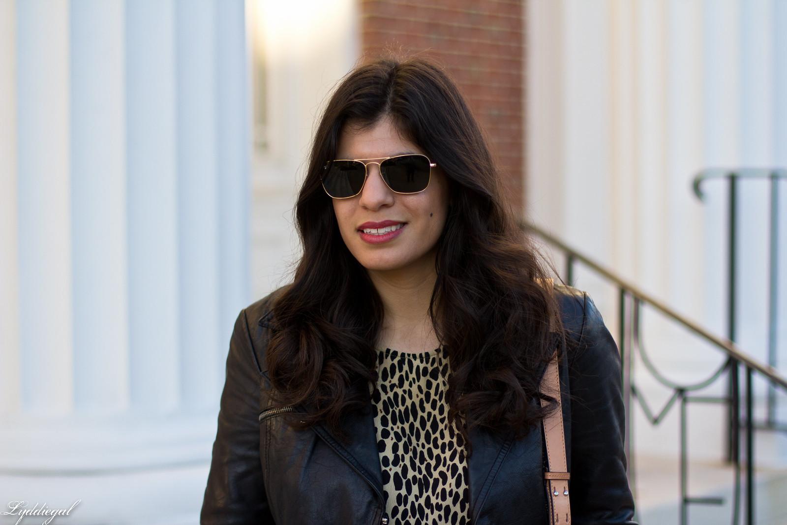 leopard print blouse, black leather jacket, black jeans-7.jpg