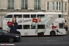 Wrightbus NRM NBFL - LTZ 1695 - LT695 - YouTube CF - Piccadilly Circus 3 - Abellio London - London - 161203 - Steven Gray - IMG_9526