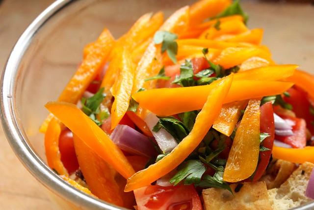 Suzie the Foodie's Panzanella Salad