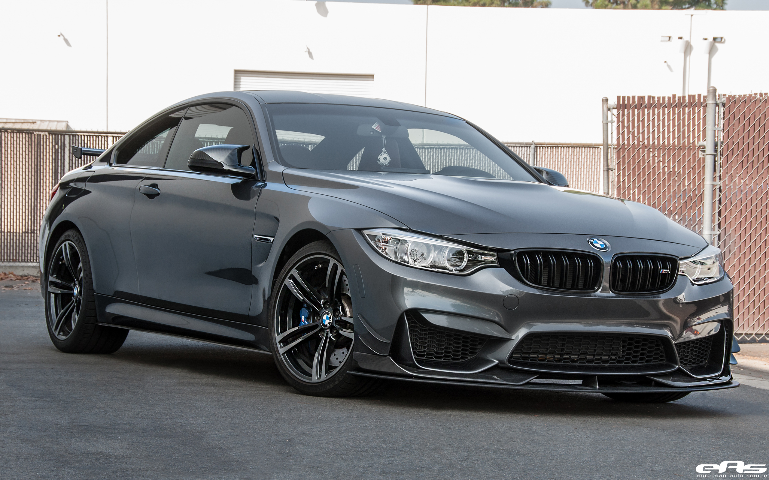 Mineral Grey M4 Gets Ac Schnitzer Aero Bmw Performance