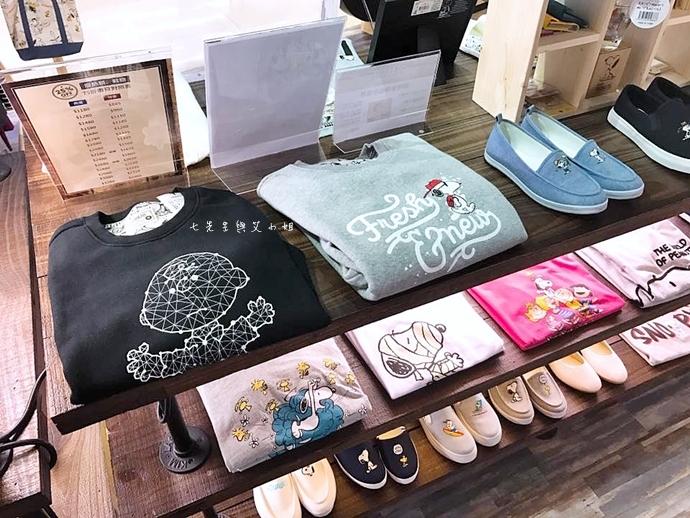 9 PEANUTS時尚衣著 史努比專賣店 微風松高