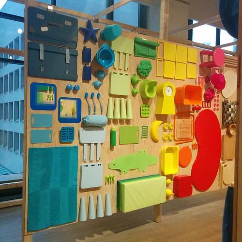 Rainbow of goods #toronto #designexchange #ikeacan40 #financialdistrict #ikea #rainbow
