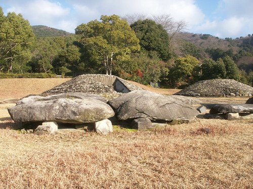 久保泉丸山遺跡の支石墓群