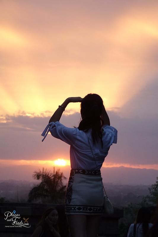 jogja ratu boko melissa sunset