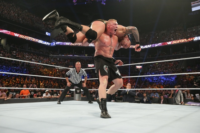 Brock Lesnar action