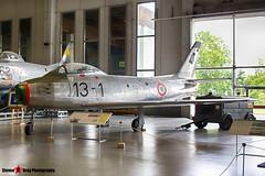 MM19792 13-1 - 692 - Italian Air Force - Canadair CL-13 Sabre 4 - Italian Air Force Museum Vigna di Valle, Italy - 160614 - Steven Gray - IMG_0535_HDR