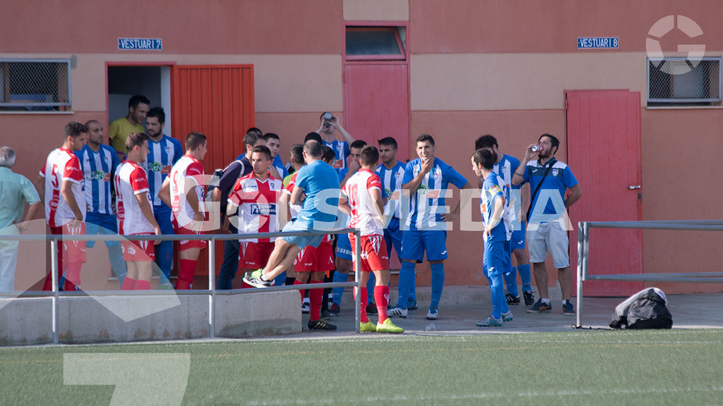 """At. D'alginet 0 - 0 C.D Alcoyano """"B"""" (Carlos Alcalde) J6"""