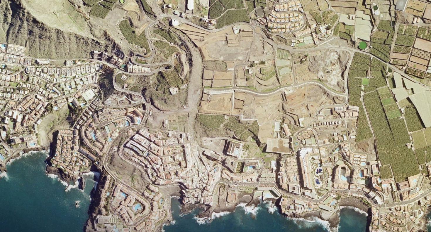 puerto de santiago, santa cruz de tenerife, gigantes del urbanismo, antes, urbanismo, planeamiento, urbano, desastre, urbanístico, construcción