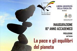 Noicattaro. Inaugurazione Lute 2016 front