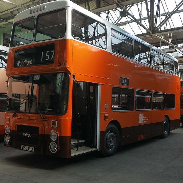 Leyland Olympian B65 PJA, Greater Manchester Transport