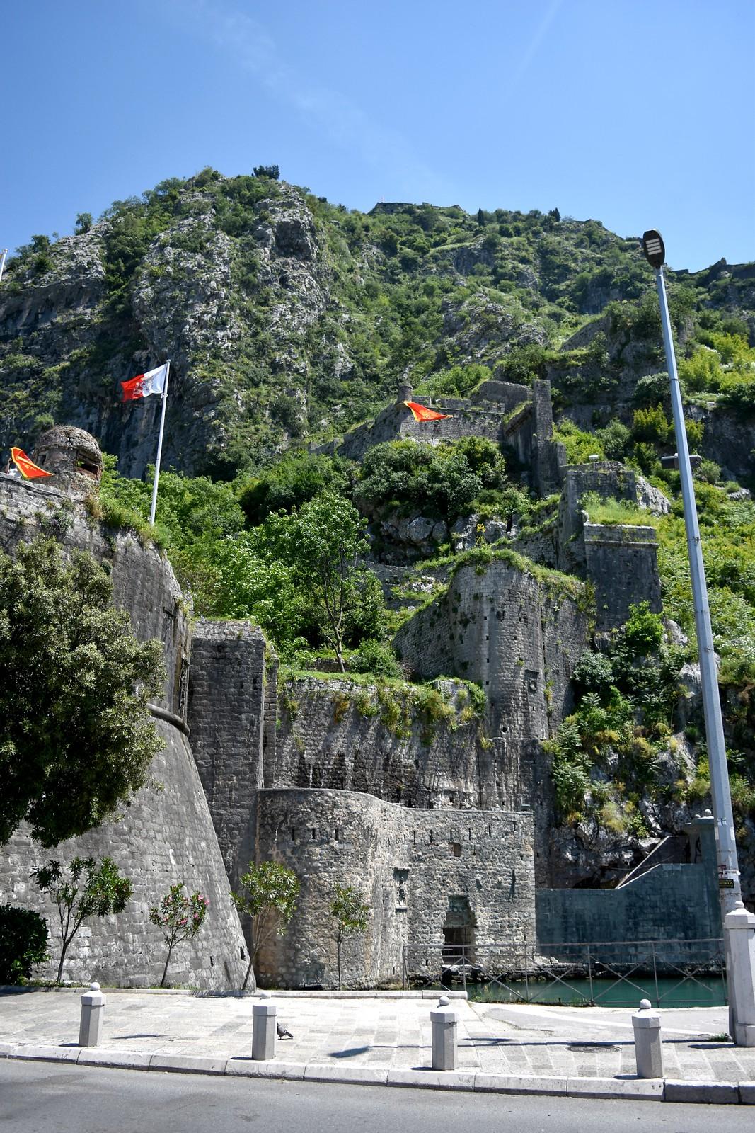 Kotor medieval walls