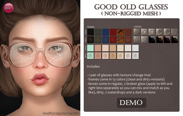 Good Old Glasses (soon @ Geeks 'n' Nerds)