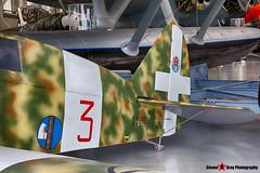 MM52757 3 - 766 - Italian Air Force - Nardi-Piaggio FN 305 - Italian Air Force Museum Vigna di Valle, Italy - 160614 - Steven Gray - IMG_0202_HDR